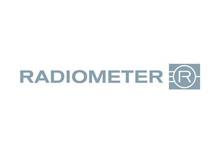 Grayscale version of the RADIOMETER logo
