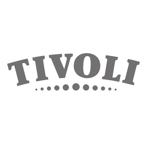Grayscale version of the TIVOLI logo